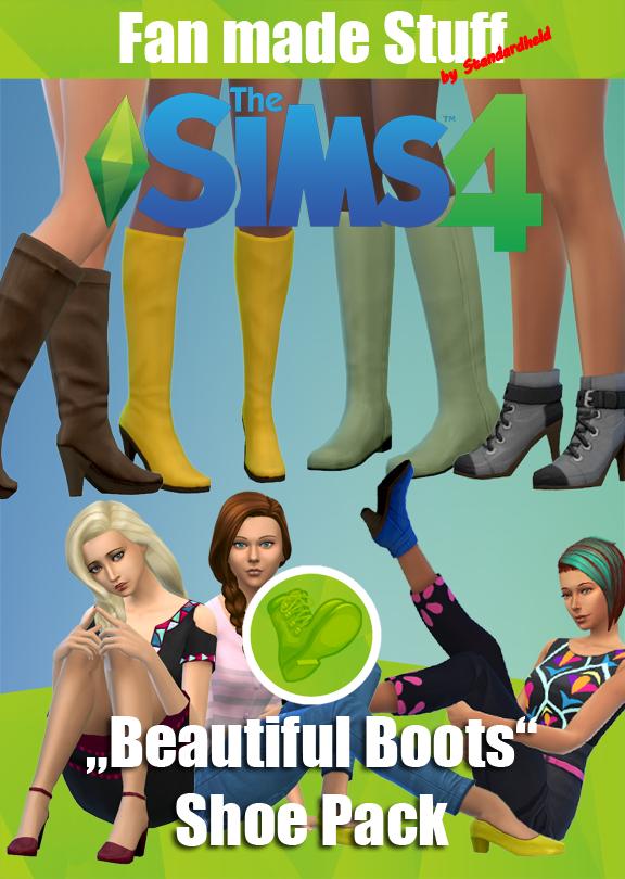 "[Standardheld] • ""Beautiful Boots"" fan made shoe pack"