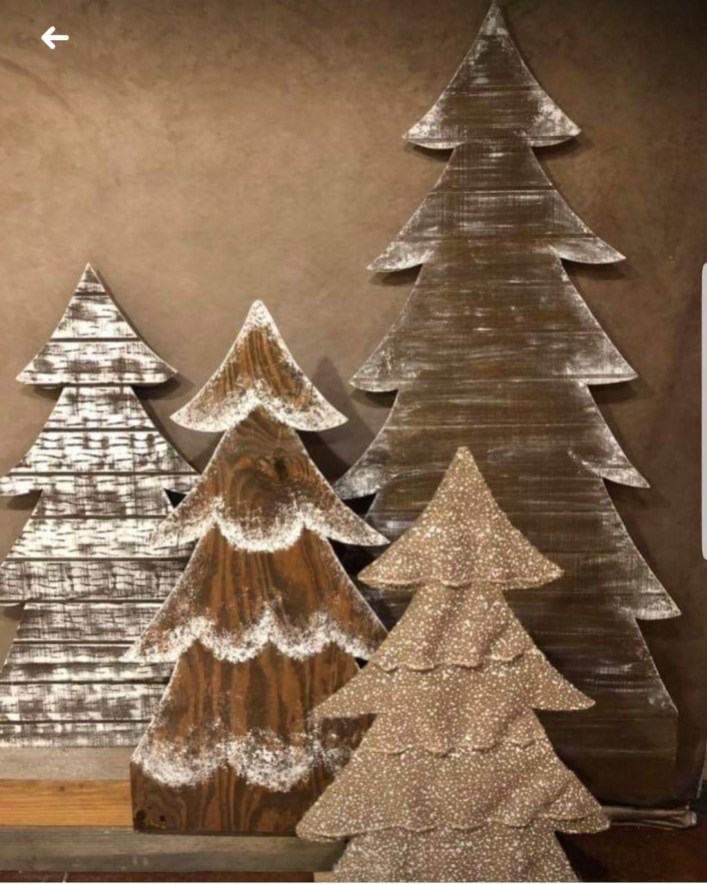 39 Superb Primitive Country Christmas Trees Ideas To Copy Right Now #christmastreeideas