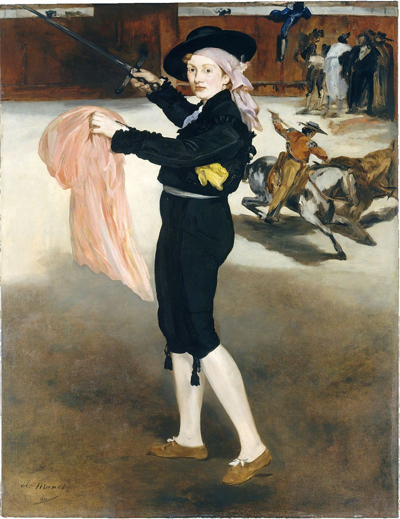 Edouard manet mlle victorine meurent in the costume of an espada édouard manet wikipedia the free encyclopedia