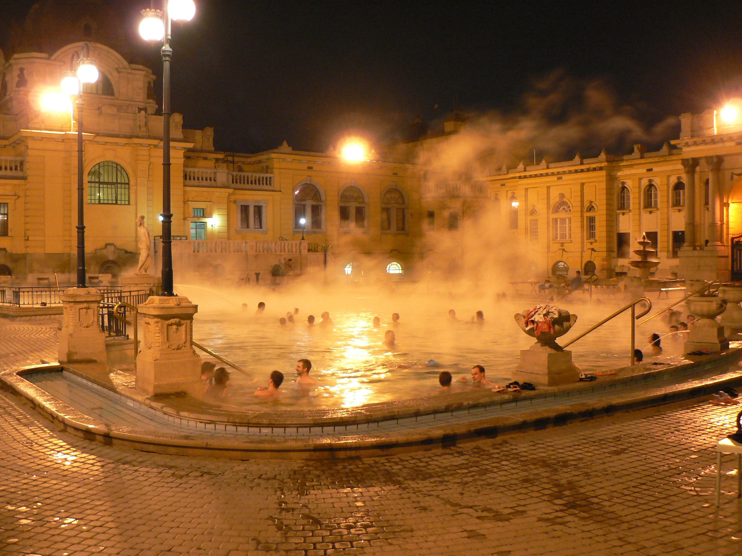 Szechenyi Baths, Budapest | Places I\'ve Been | Pinterest ...