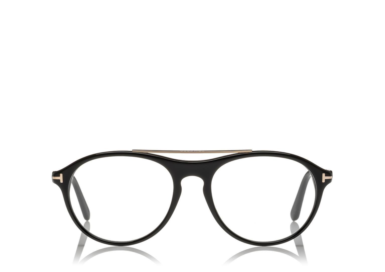 PILOT SHAPE GLASSES | Shop Tom Ford Online Store | Four eyes | Pinterest