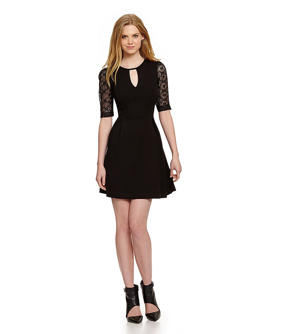French Connection Valentine Lace Dress Dillards Formal