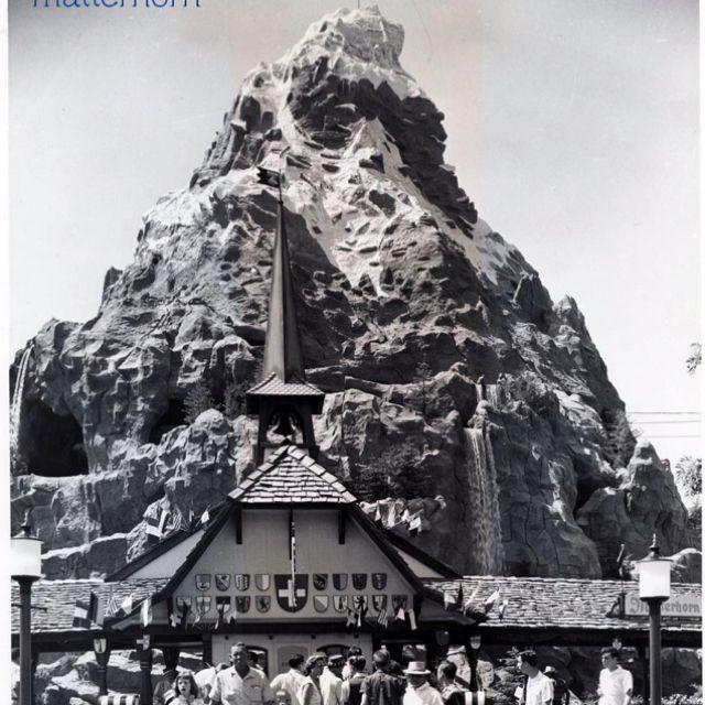 Matterhorn 1959 Disneyland Retro Disney Disney Parks Vintage Disney