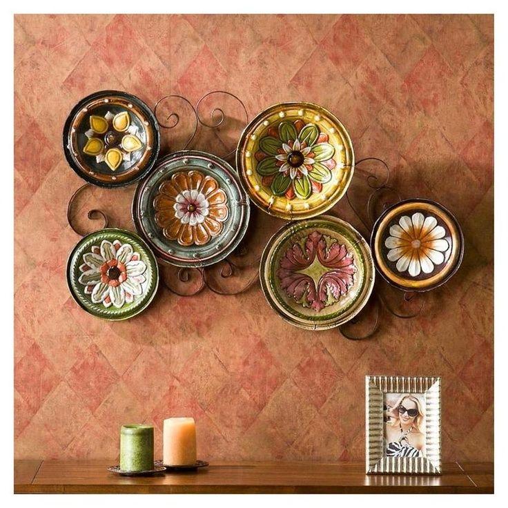 20 Beautiful Wall Decor Ideas Using Decorative Plates Plate Wall