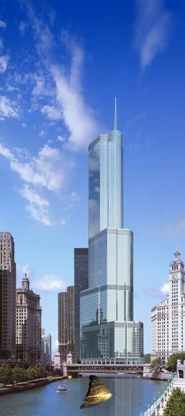 Trump International Hotel Tower Chicago By Skidmore Owings