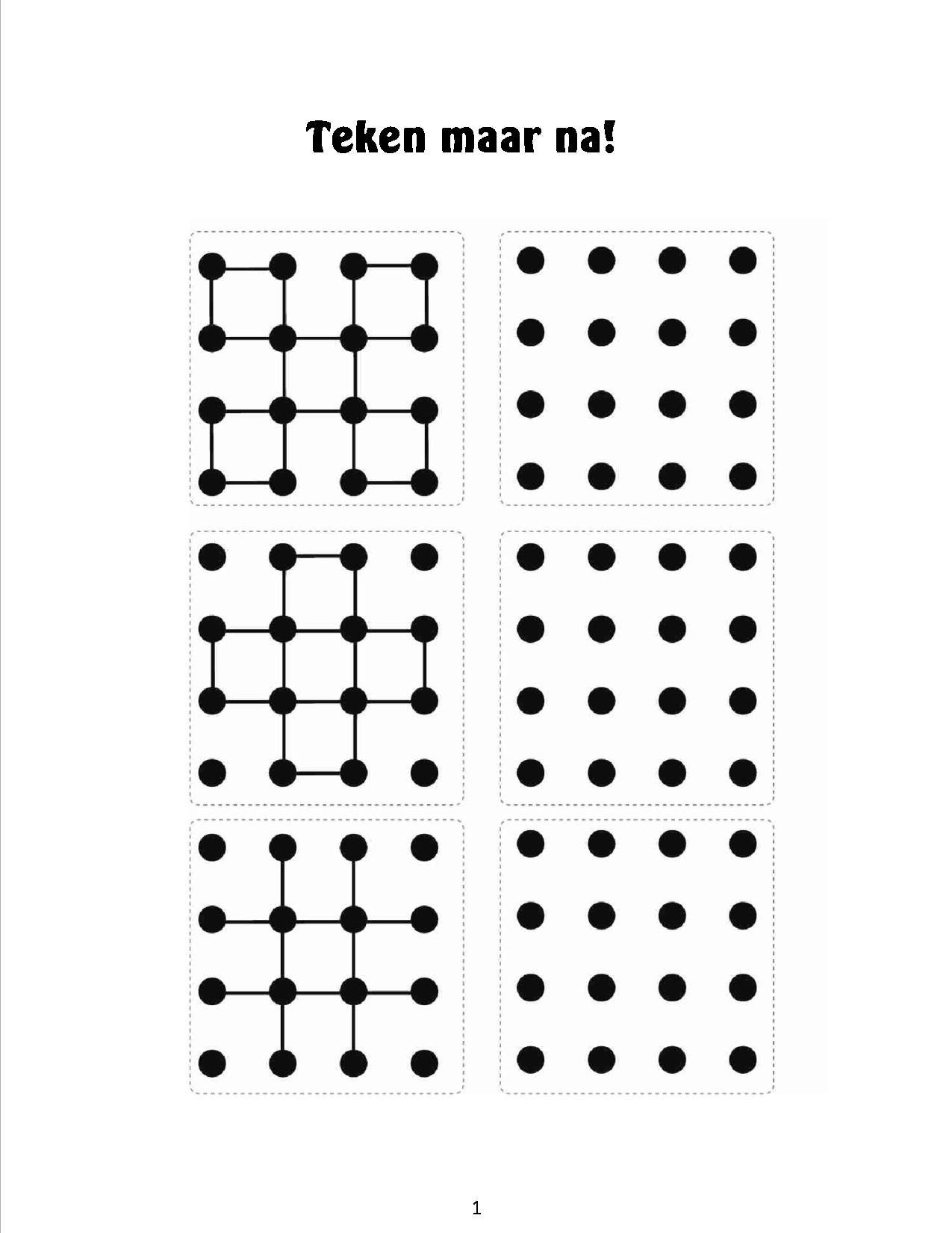 natekenen van figuren 9 visuelle wahrnehmung kindergarten formen arbeitsbl tter und. Black Bedroom Furniture Sets. Home Design Ideas