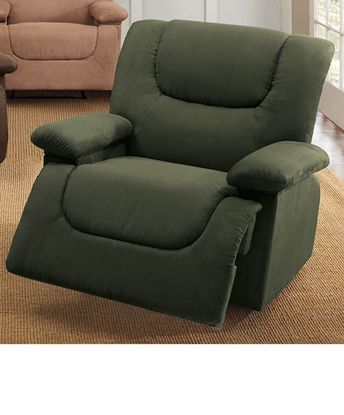 Plush Extra Wide Recliner With Storage Arms At Home Furniture Store Recliner Home Furniture