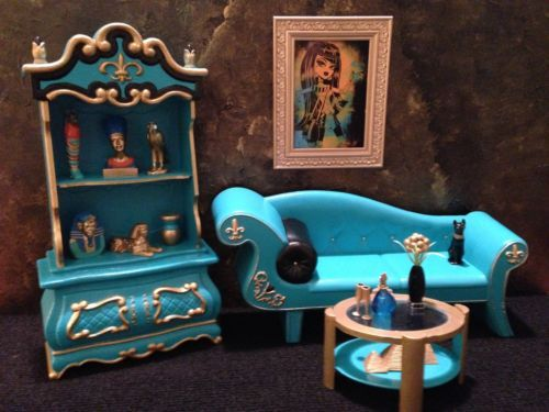 Barbie OOAK Living Room Doll Furniture | EBay