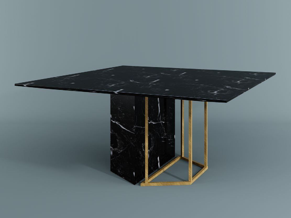 10 Gorgeous Black Dining Tables For Your Modern Dining Room Dining Table Marble Square Dining Tables Furniture Dining Table