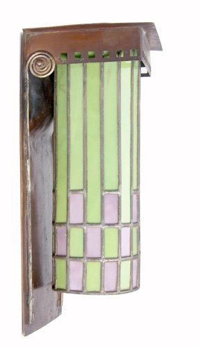 26 Roycroft Secessionist Wall Sconce Designed By Dard On
