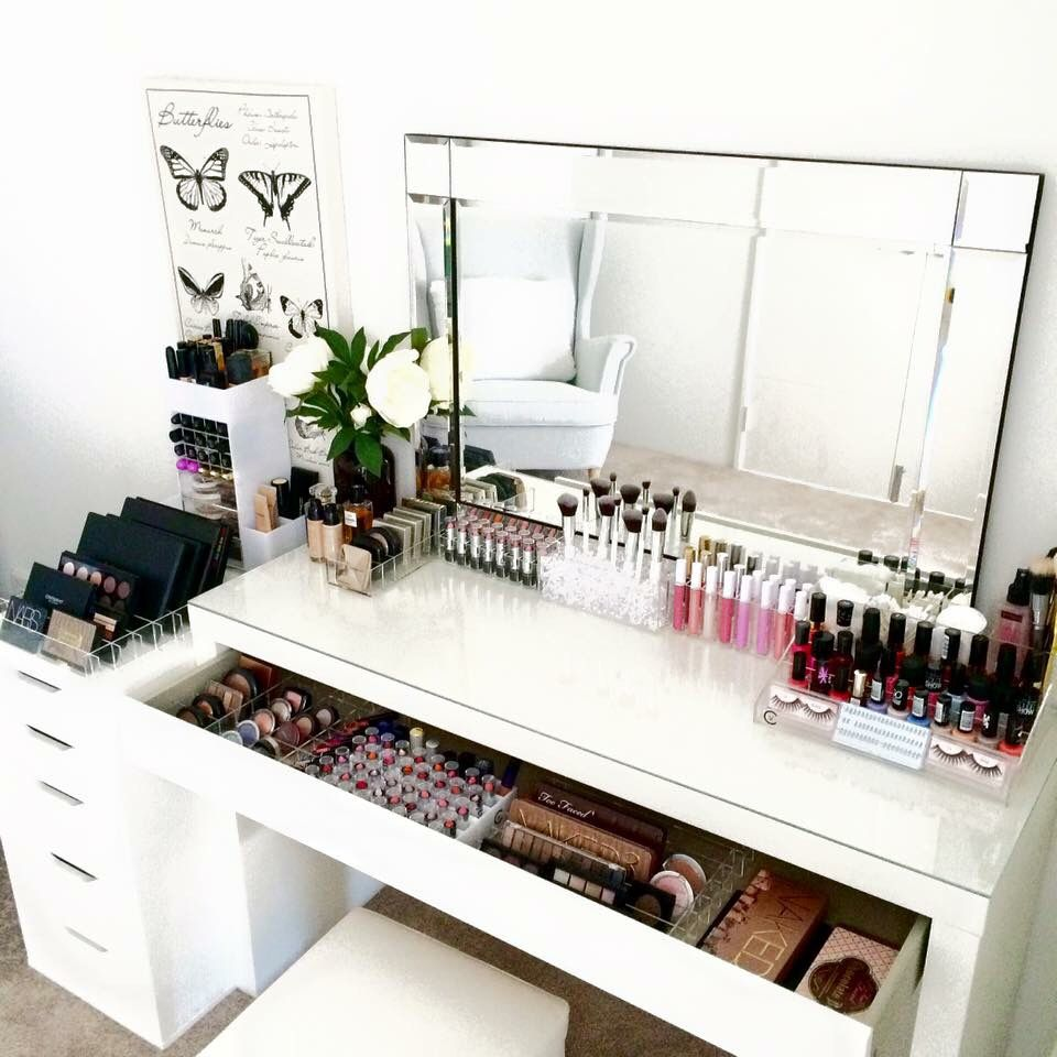stained up exceptional desk of make seats wooden uncategorized mirror table lights then way makeup and despite with
