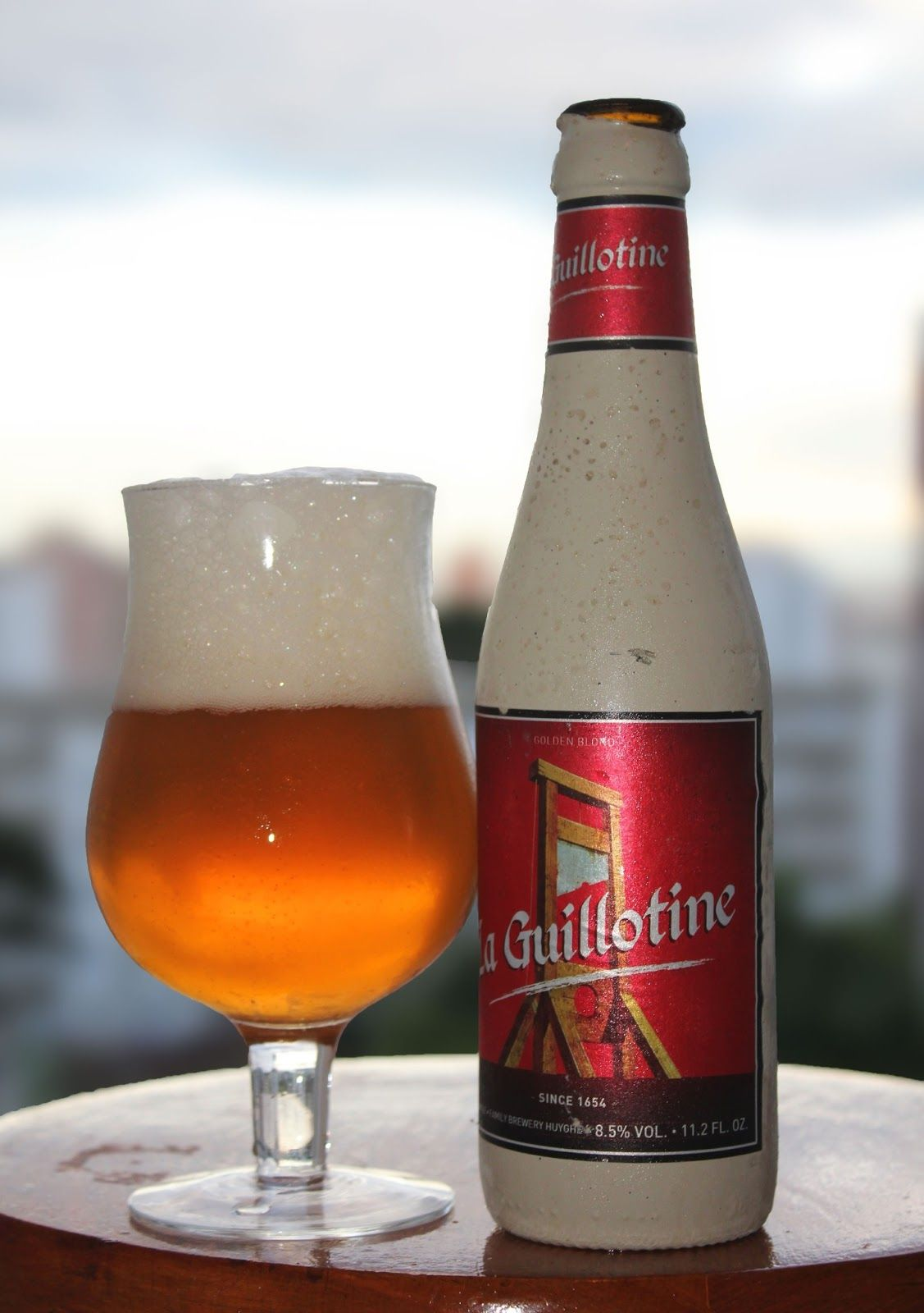 La Guillotine beer | Drink | Beer, Belgian beer, Beer bottle
