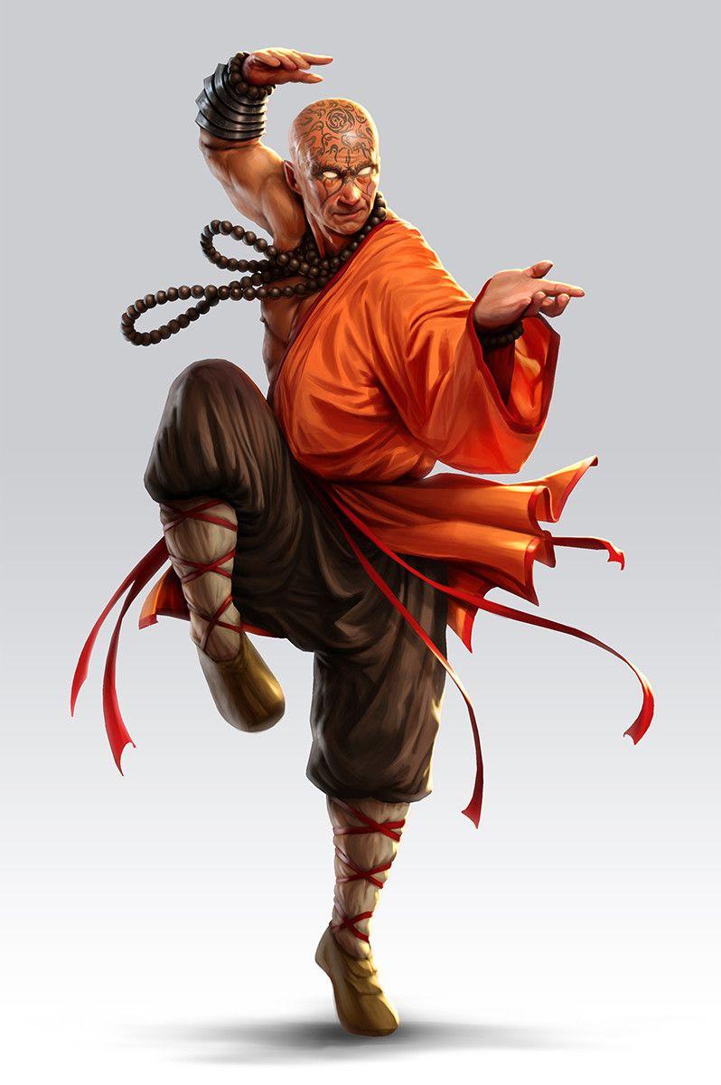 Artstation Kung Fu Fighters Saeed Jalabi Samurai Desenho