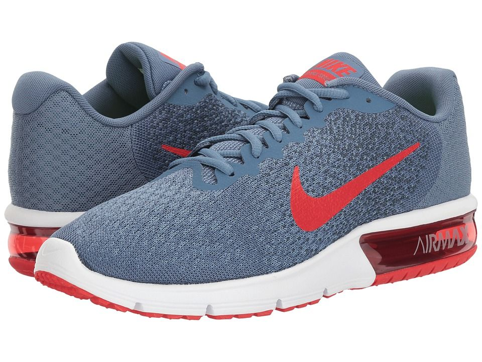 2e65e1a66ffc Nike Air Max Sequent 2 Men s Running Shoes Ocean Fog University  Red Squadron Blue