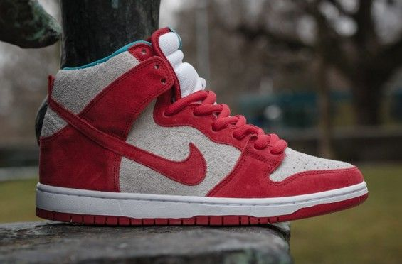 best service 8b5e5 371a5 Nike SB Dunk High – Gym Red  White