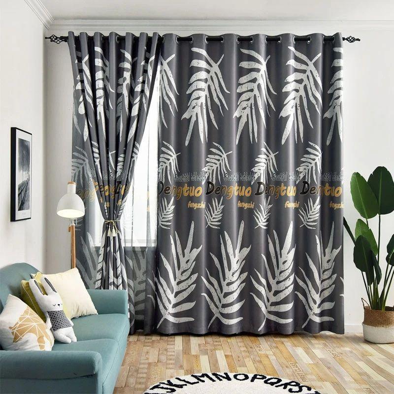 rideau occultant gris argente rideaux