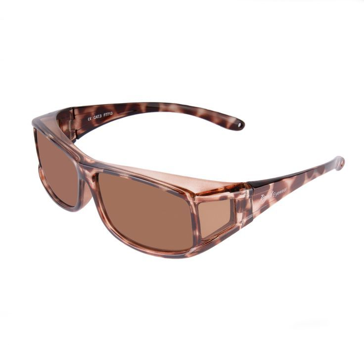 Black Brown POLARIZED UV400 Sunglasses Fits Over Rx glasses For driving/&sports
