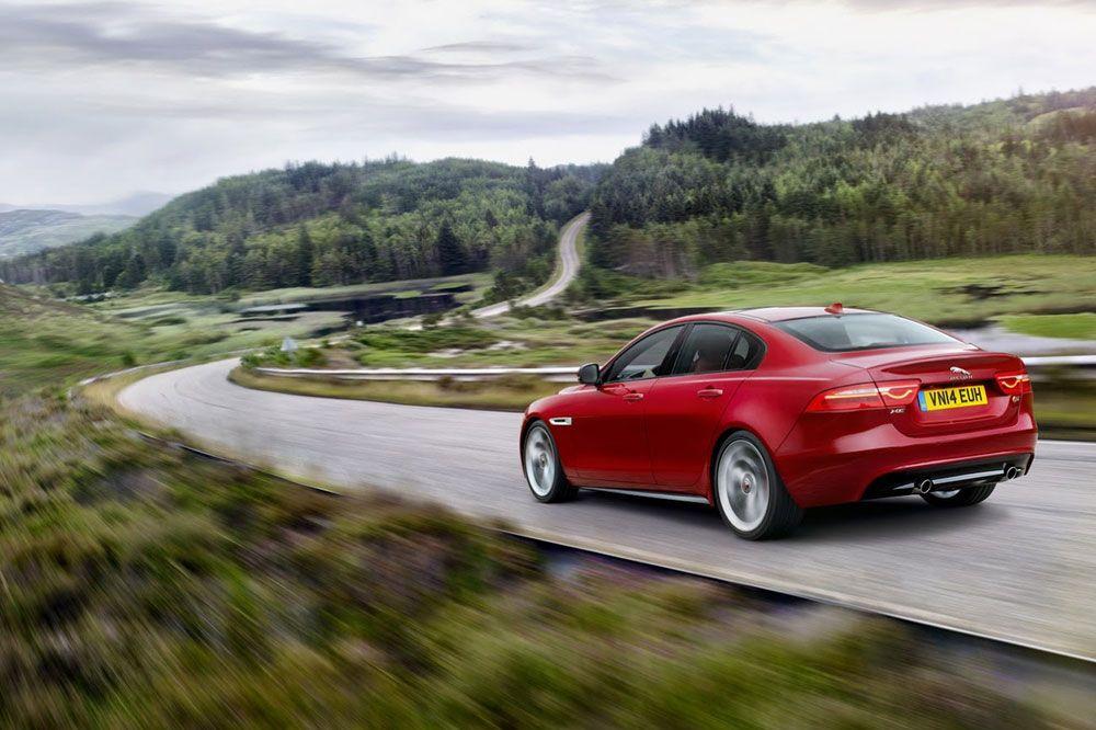 New Review 2016 Jaguar XE Release Rear View Model