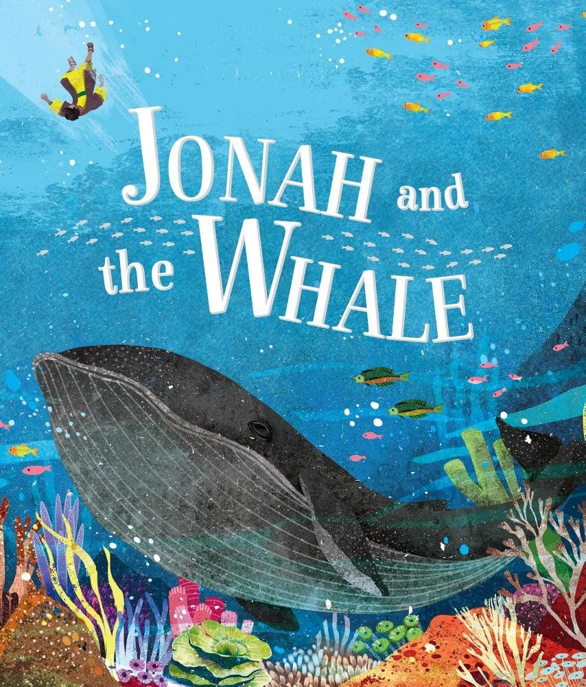Follow the story of in jonah and the whale