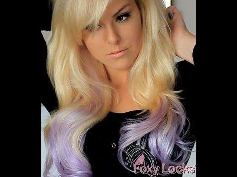 Lavender blonde how to dip dye hair extensions contributors i lavender blonde how to dip dye hair extensionsfoxy locks extensions pmusecretfo Images
