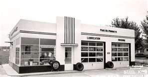 old Pure Oil Products service station
