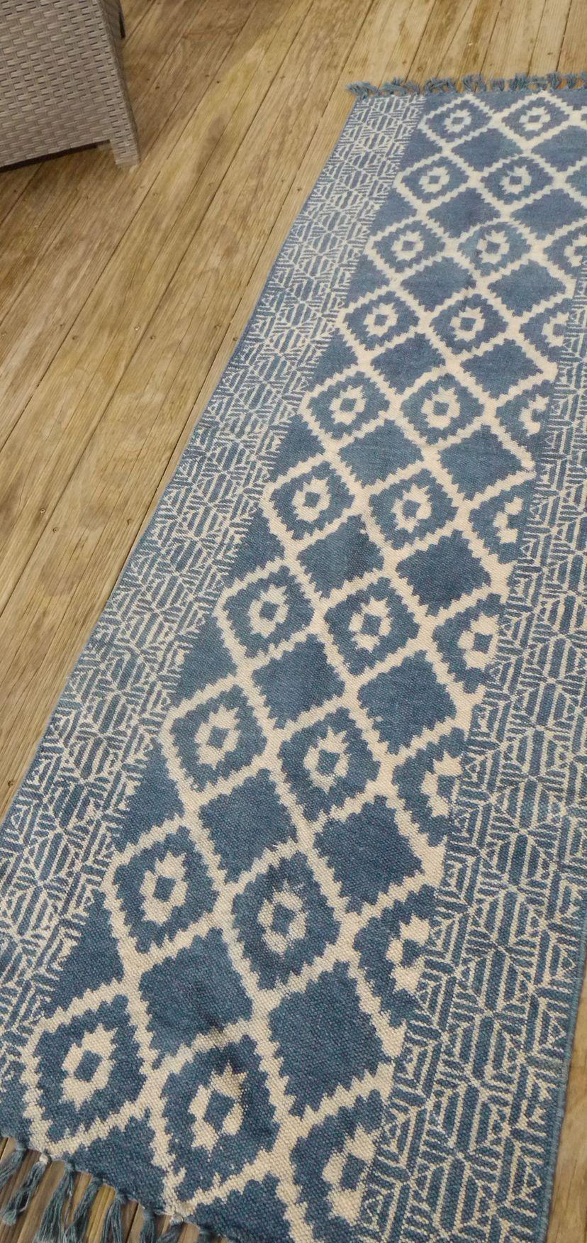 etsy tapis coton tapis salle