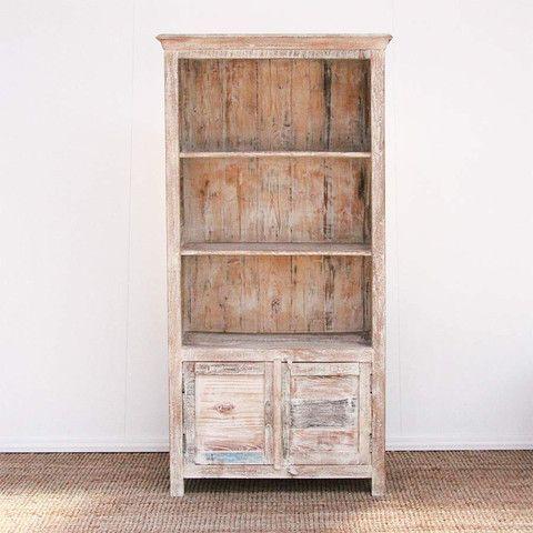 The Importer Coastal Bookcase Whitewash