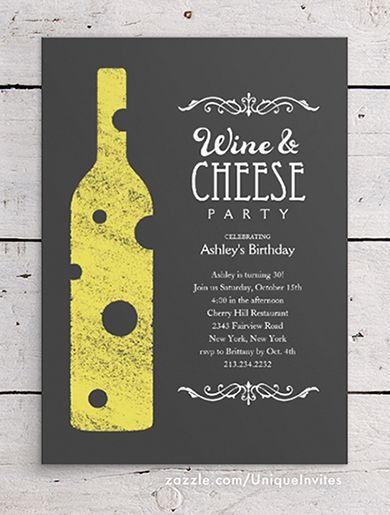 wine and cheese party invitations theme party invitations wine