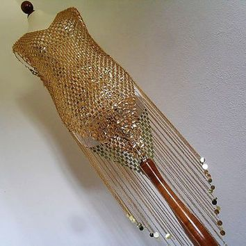 GOLD CHAIN MAILLE MESH DRESS - Google Search