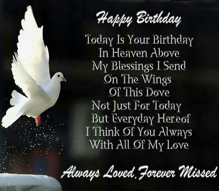 Happy Birthday in Heaven Memorials | Happy birthday in heaven