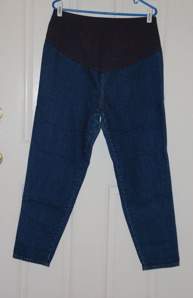 Detalles acerca de Take nine maternity jeans talla L Hecho en EE ...