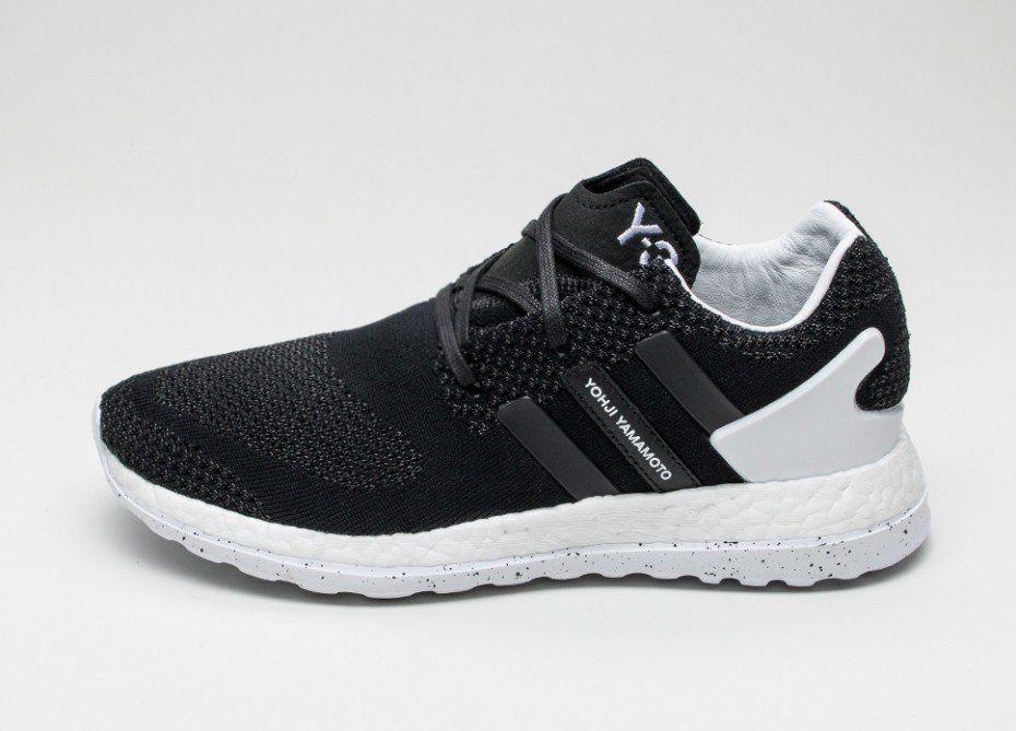 ca2d56b62 Adidas Y-3 Pure Boost ZG Knit (Core Black   Ftwr White   Core Black ...