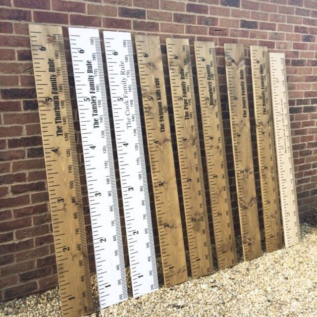 More personalised wooden height chart ruler is made today which will be with their owners shortly. Perfect gifts for Christenings and new baby gifts. Also available in solid oak engraved  version.
