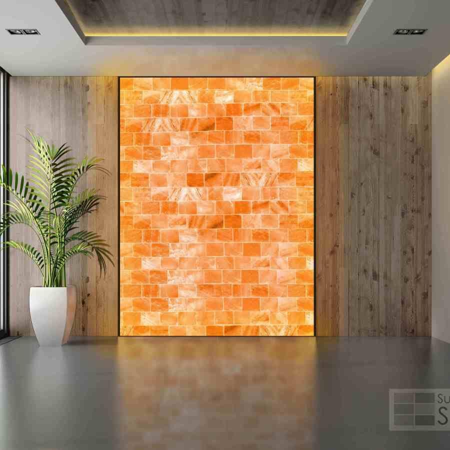 Salt Wall Salt Panels Room Luxury Travel Sun Valley Himalayan Salt Lamp Decor Salt Room Therapy Himalayan Salt Room