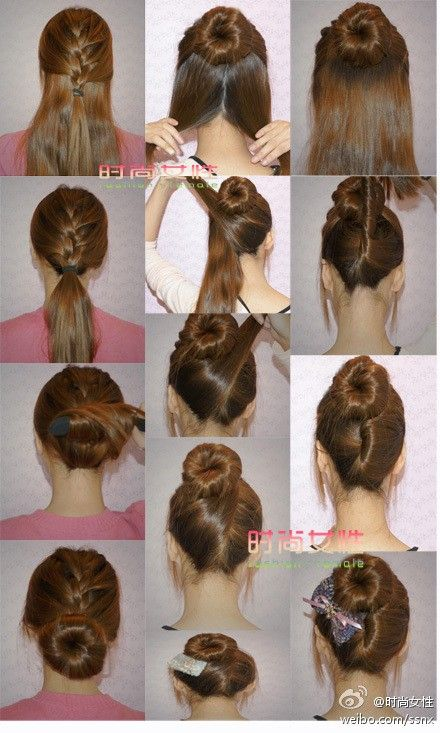 Different Hairstyles Love The Different Options  Krys Wedding  Made Of Honor