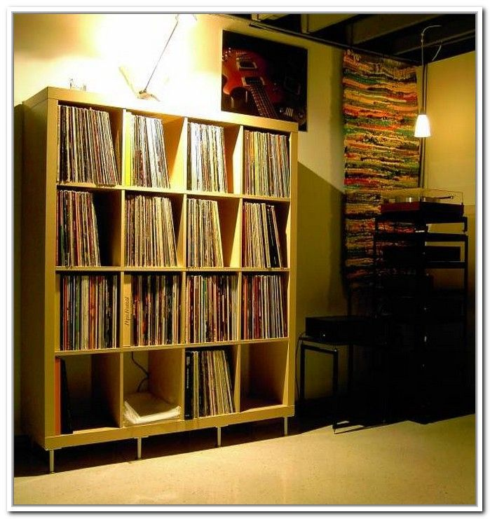 record album storage ikea vinyl record storage pinterest storage record storage and vinyl. Black Bedroom Furniture Sets. Home Design Ideas