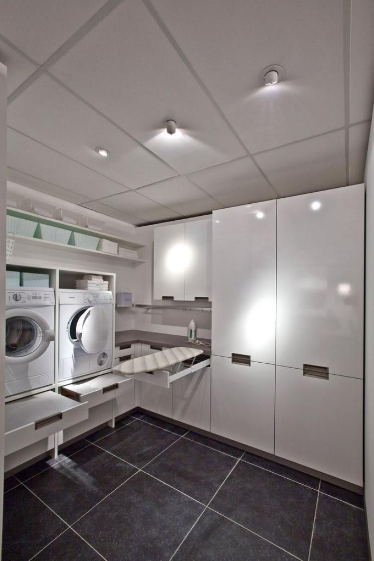 Laundry Room Ideas Stacked Washer Dryer
