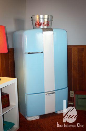 Vintage Fridge Cabinet Vintage Fridge Vintage Refrigerator