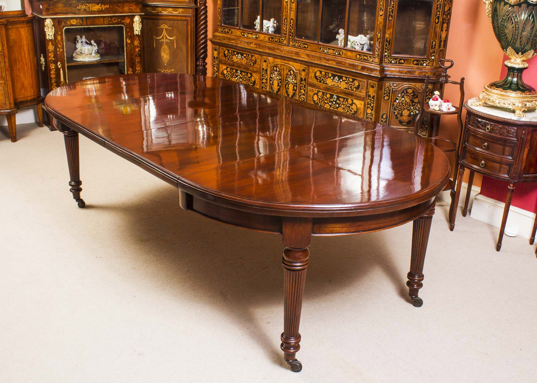 A Jaw Dropping Antique Victorian Dining Table