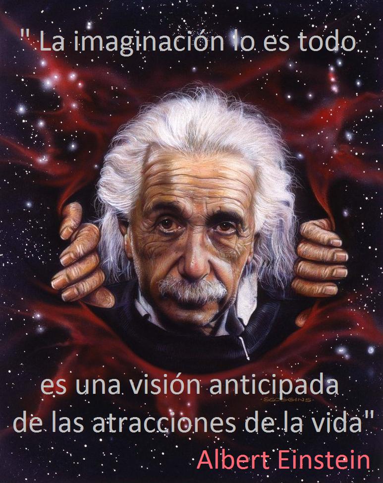 El Mundo Real Es Mucho Más Pequeño Que El Mundo De La Imaginación Einstein Frases Celebres Citas De Albert Einstein