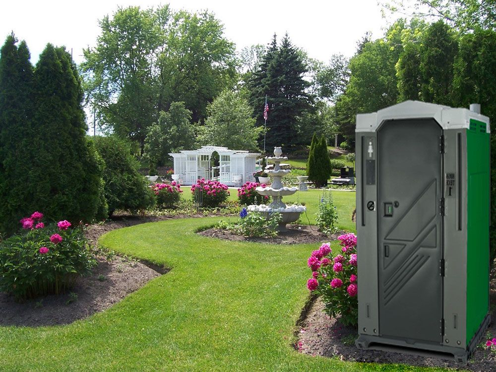 Outside+toilet | Portable restroom outdoor event toilet for rent in northern Michigan ...