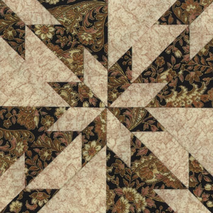 Free Hunter Star Quilt Pattern | Home » Hunter's Star Quilt Block ... : hunting themed quilt patterns - Adamdwight.com