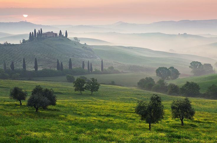 Another shot of Tuscany