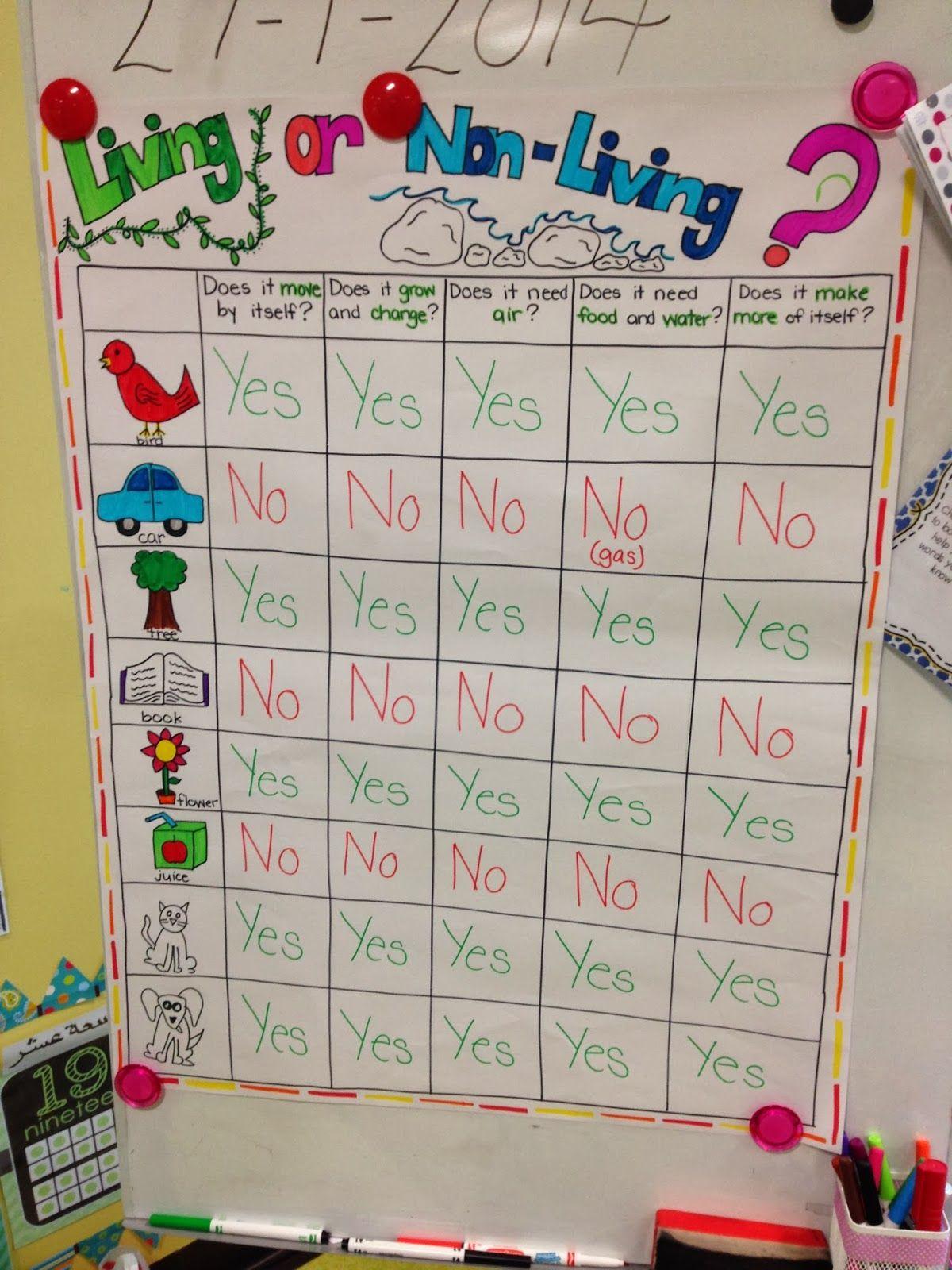 Completely Kindergarten Living And Non Living Unit Elementary Science Kindergarten Science Kindergarten Science Activities [ 1600 x 1200 Pixel ]