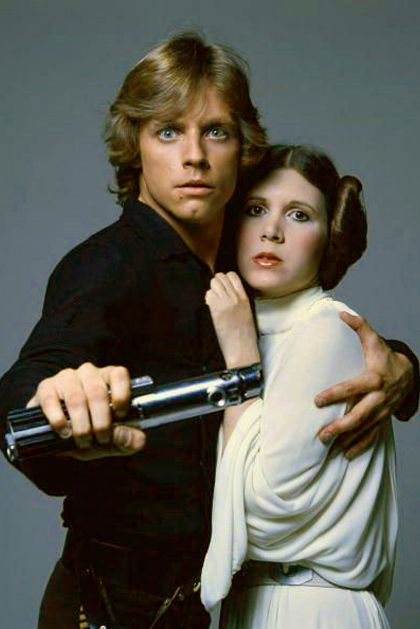 Luke Skywalker and Princess Leia - Star Wars