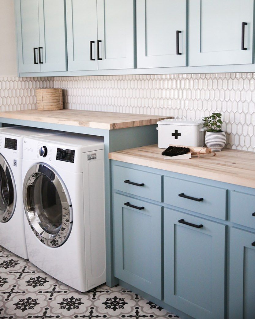 T O N I E L M E R On Instagram This Laundry Room Turned Out To