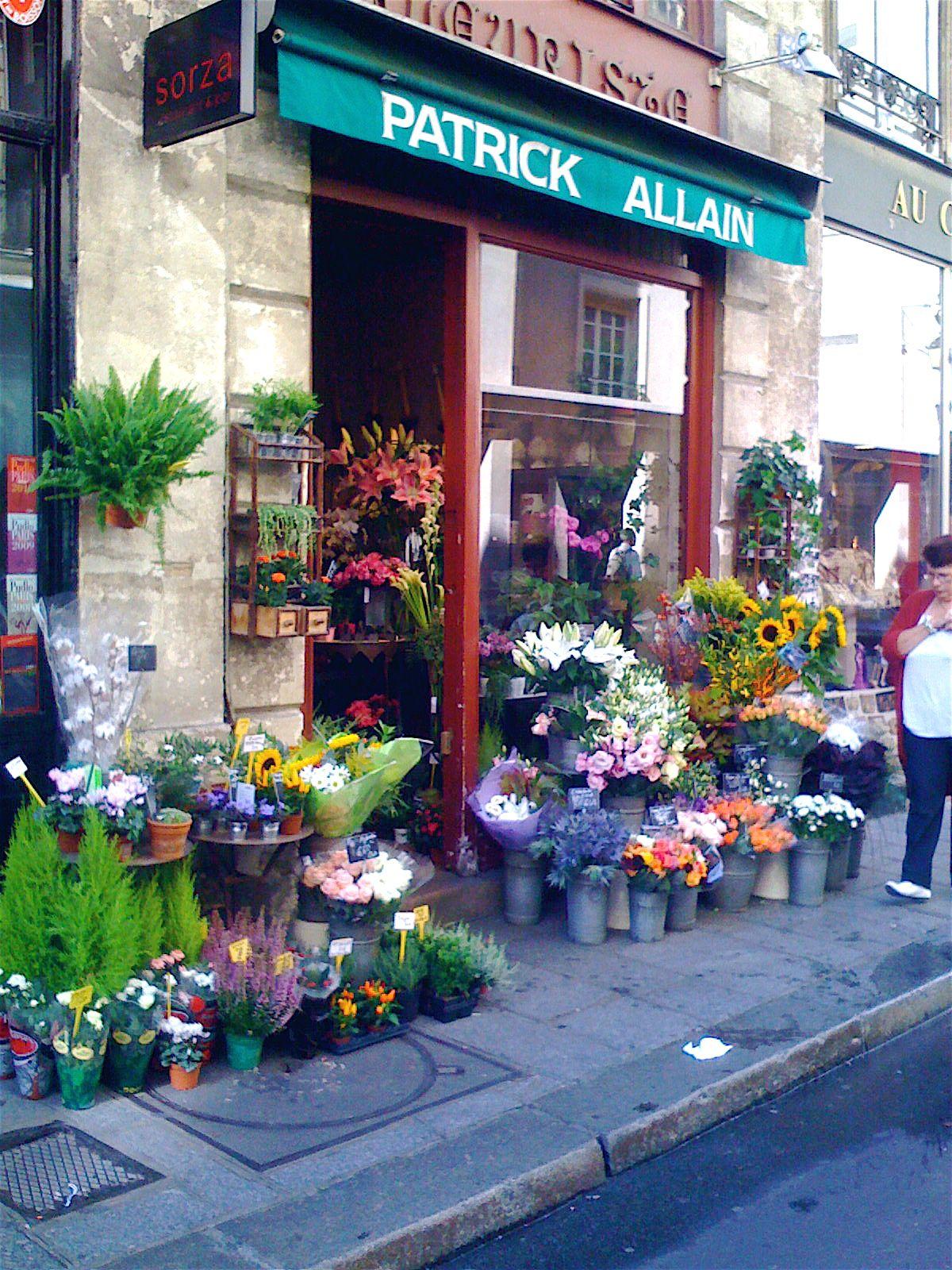 Ile de St. Louis My most favorite flower store in Paris