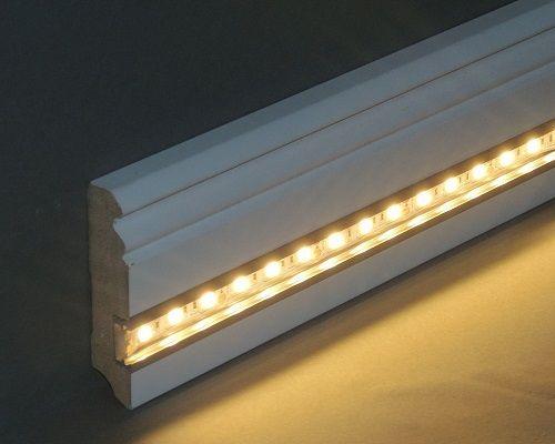 LED-Sockelleiste  - led lichtleiste küche