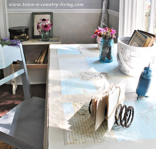 Take a tour of my cottage style farmhouse farmhouse officetown and countrycountry livingletter