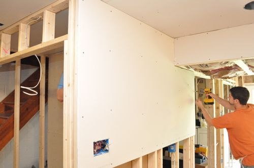 How To Install Drywall With 75 Pics Hanging Taping Finishing Drywall Installation Basement Remodeling Installation